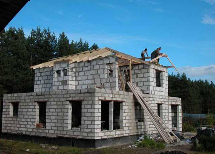 Построить дом из пенобетона